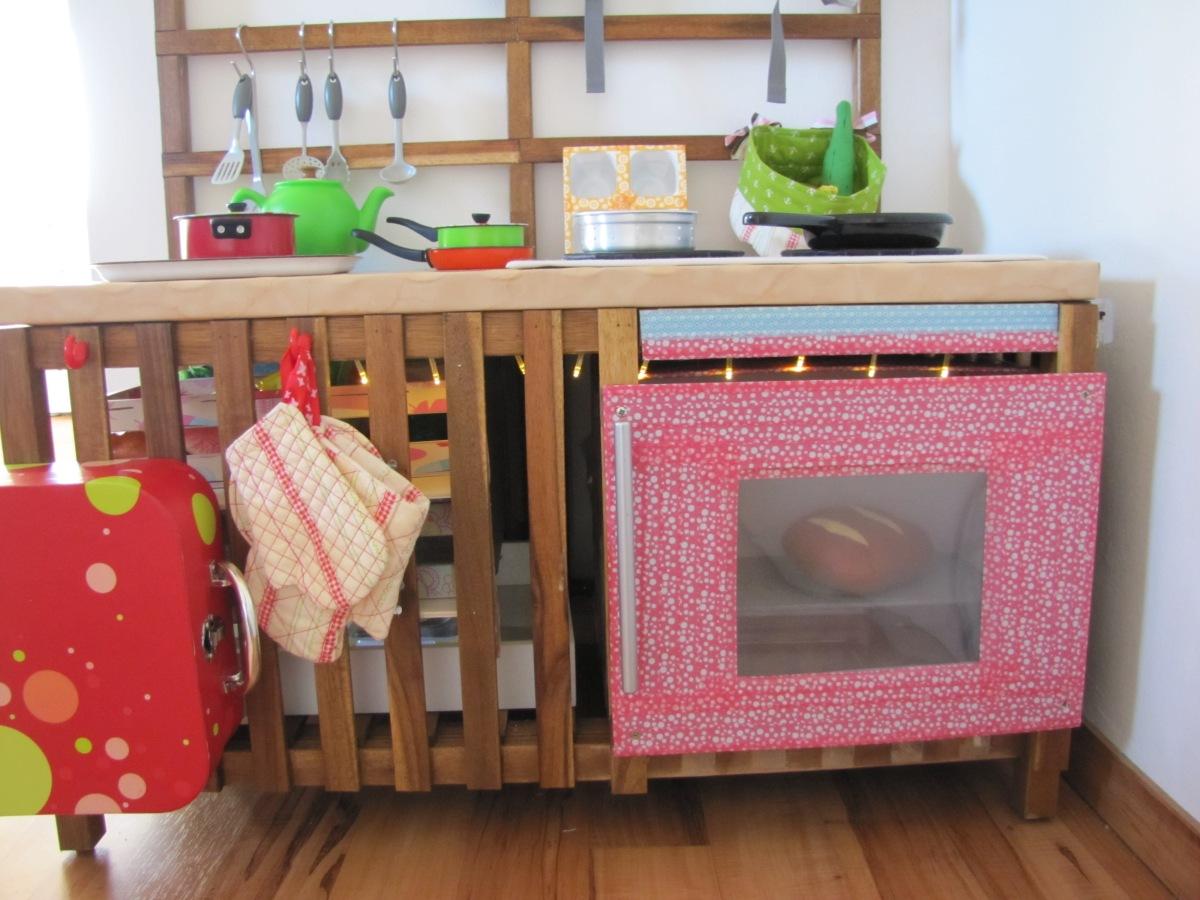 Kinderküche - selbst gebaut